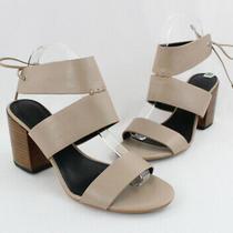 Rebecca Minkoff Blush Beige Leather Strappy Heel Shoe Size 7.5 Photo