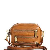 Rebecca Minkoff Brown Leather Zipper Front Detailed Crossbody Handbag Evhb Photo