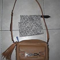Rebecca Minkoff 'Carson' Crossbody Camera Camera Bag Tan Almond Nwt 395 Photo