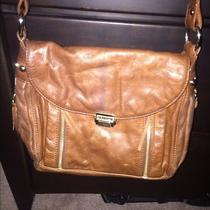 Rebecca Minkoff Cognac Leather Messenger Bag  Photo