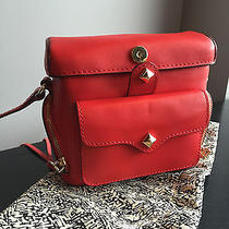 Rebecca Minkoff Craig Camera Crossbody Handbag Red Nwt  Photo