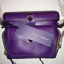 Rebecca Minkoff Craig Crossbody Camera Leather Handbag New Photo