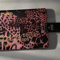Rebecca Minkoff Credit Card Style Usb Flash Drive Pink Cheetah Print Photo