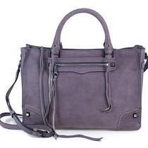 Rebecca Minkoff Deep Lavender Purple Regan Satchel Tote Handbag Purse New Photo