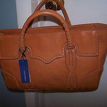 Rebecca Minkoff Ew Toki Tote Vachetta Brown Leather Tote/purse Nwt 595 Photo