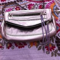 Rebecca Minkoff Gold Crossbody Clutch Shoulder Leather Bag Gorgeous Photo