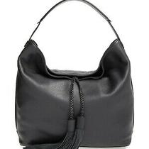 Rebecca Minkoff Isobel Leather Hobo Bag Shoulder Purse Handbag Black  299 New Photo
