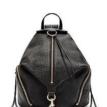 Rebecca Minkoff Julian Backpack -- Brand New -- Unwrapped -- Black and Gold Photo