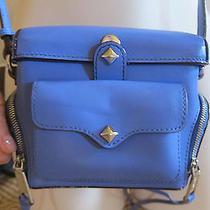 Rebecca Minkoff  Leather Camera Case Blue Photo