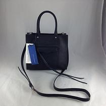 Rebecca Minkoff - Mab Tote Mini - Black Leather Handbag - Nwt Photo
