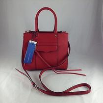 Rebecca Minkoff - Mab Tote Mini - Crimson Leather Handbag - Nwt Photo