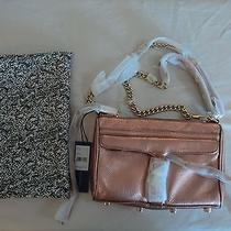 Rebecca Minkoff - Mini Mac Clutch - Rose Gold Leather Handbag - Nwt Photo
