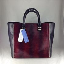 Rebecca Minkoff - Mini Perry Tote - Crimson Haircalf Leather Handbag - Nwt Photo