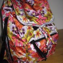 Rebecca Minkoff Multi  Floral  Nylon  Bike  Backpack Nwt Photo