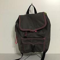 Rebecca Minkoff Nylon Bike Backpack Grey Photo