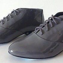 Rebecca Minkoff Paige Oxford Patent Leather Graphite. Size 7 Photo