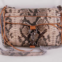 Rebecca Minkoff Python Microfiber Morning After Clutch  Photo