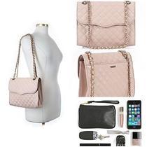 Rebecca Minkoff 'Quilted Affair' Shoulder Hand Bag in Quartz/gold Hardware 295 Photo