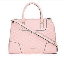 Rebecca Minkoff Quilted Baby Pink Quartz Amorous Leather Satchel Handbag Nwt345 Photo