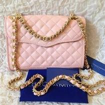 Rebecca Minkoff Quilted  Mini Affair Crossbody Pursequartznwt Photo
