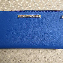 Rebecca Minkoff Saffiano Leather Ava Snap Wallet  Nwt - 105 Photo