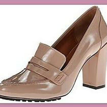 Rebecca Minkoff Sonya Blush Oxford Penny Loafer Menswear Pumps Patent Leather 10 Photo