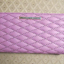 Rebecca Minkoff Sophie Snap Quilted Continental Snap Wallet  Purple  Nwt - 95 Photo