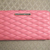 Rebecca Minkoff Sophie Snap Quilted Continental Snap Wallet Watermelon Nwt - 95 Photo