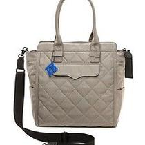 Rebecca Minkoff - Teddy Tote Nylon Diaper Bag Stormy Gray Photo