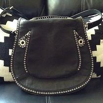 Rebecca Minkoff Vanity Crossbody Bag Purse Black Leather Nwot Photo