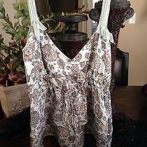 Rebecca Taylor 100% Pure Silk Camisole Photo