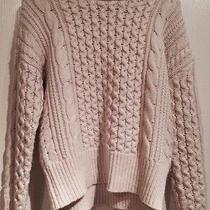 Rebecca Taylor Desert Slouchy Cable-Knit Sweater Photo