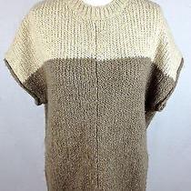 Rebecca Taylor Sweater Womens S Brown Wool Alpaca Tunic  Photo