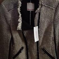 Rebecca Taylor Tweed Jacket. Very Trendy. Size 2 New With Tags  Photo
