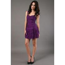 Rebecca Taylor Violet Silk Tutu Dress Photo