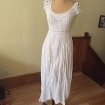 Rebecca Taylor White Dress Size M Photo
