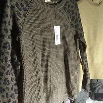 Rebecca Taylor Wildcat Sweater. Medium. Nwt 325.00 Photo
