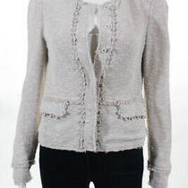 Rebecca Taylor Womens Jacket Size 4 Pink Blush Stretch Jacket 525 11379812 Photo