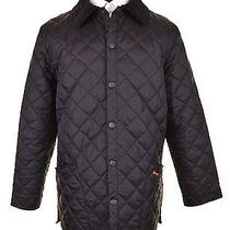 Recent Barbour Black Diamond Quilted Liddesdale Barn Coat Jacket M Photo