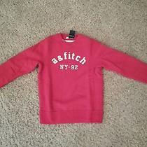 Red Abercrombie Sweatshirt Photo