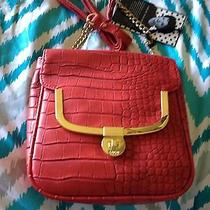Red and Gold Lulu Purse Photo