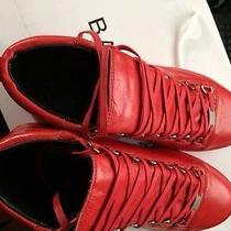Red Balenciaga Photo