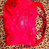 Red Balenciaga City Bag Photo
