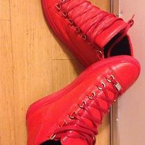 Red Balenciaga Size 42 Photo