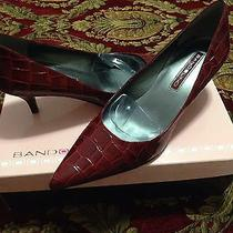 Red Beautiful Women Shoes Photo