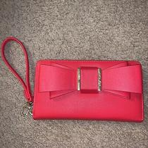 Red Betsey Johnson Wristlet Wallet Photo
