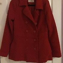Red Billabong Winter Coat Photo