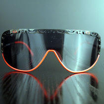 Red - Black Vintage Sunglasses Luxury French Brand Cd Model 2501 Photo
