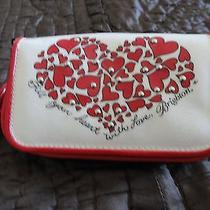 Red Black & White Brighton Crossbody Cell Phone Purse Photo