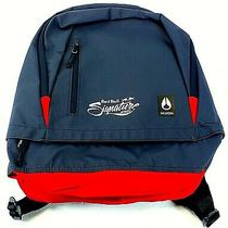 Red Bull Signature Nixon Backpack New Navy & Red Photo